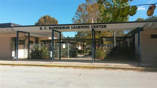 front of bannerman school