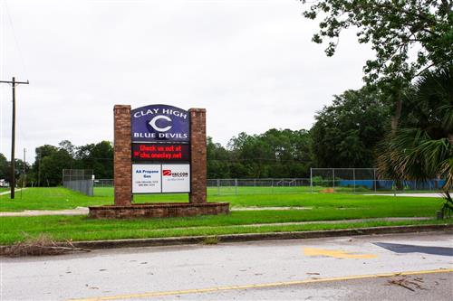 chs school sign