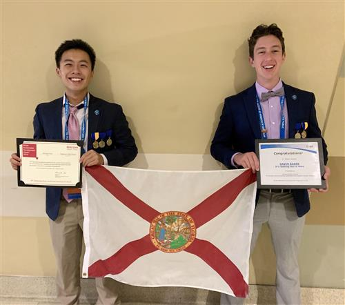 ISEF Picture of Clay County Students