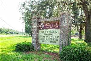 Front of Montclair Elementary Sign