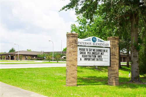 Front Sign of Paterson Elementary