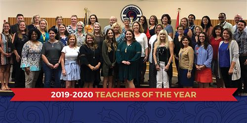 Teachers of the Year Picture